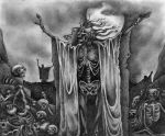 The Valley of Dry Bones by wolfmorphine