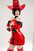 Guilty Gear I-No by AlexReiss