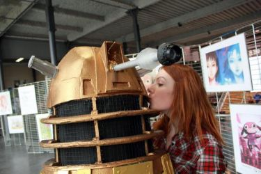 Doctor Who cosplay - You may kiss the Dalek by haricovert-cosplay