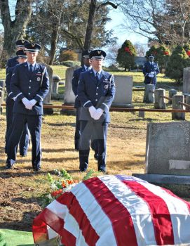 Air Force Funeral at Sleepy Hollow Cemetery 06 by BellonaRose
