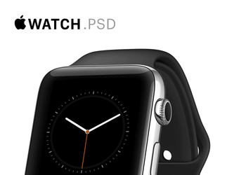 Apple Watch Mockups [PSD] by Ramotion
