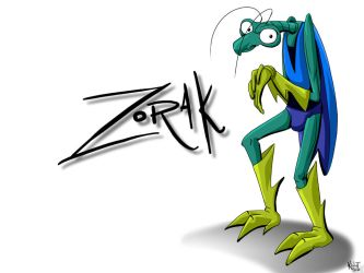 Zorak Wallpaper No.1 by Senshee
