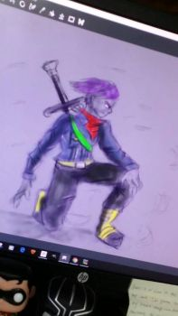 trunks sketch by yo24man