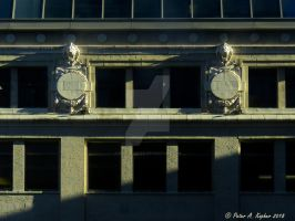 Early Morning Facade  by peterkopher