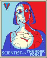 Scientist for New Thunder Force by backerman