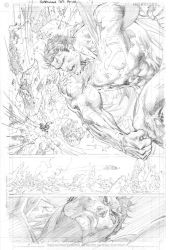 Jim Lee SUPERMAN pencils by TimTownsend