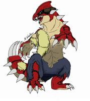 Were-Pokemon # 5: Groudon!