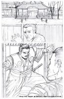 Arrow of Destiny pg 1 pencils by MAW-Productions