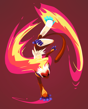 infernape by Peegeray