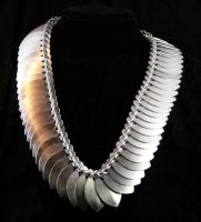 Scale Persian Necklace by Ichi-Black