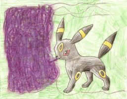 Umbreon Toxic by ImprovmanZero
