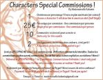 Annonce Characters Special Commissions ! by Kalumis