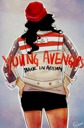 Young Avengers are Back by GiselleRocks