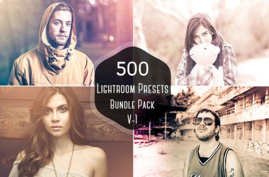 500 Pro Lightroom Presets Bundle on Sale for $9 by symufa