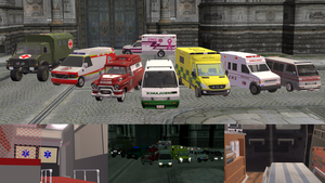 [MMD] Ambulance DL by OniMau619
