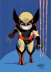 X-Baby Wolverine by wardogs101