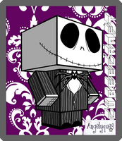 Jack Skellington Cubeecraft by angelyques