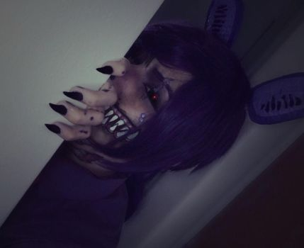 Twisted Bonnie Makeup Test by HazyCosplayer