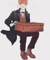 newt scamander by Weis-SD