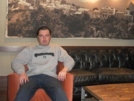 me at Bebek Caffe Nero Istanbul by galopper