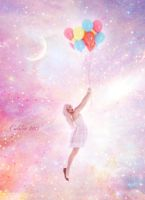 Candy balloons by Calilia