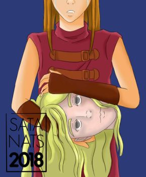 Claymore - Clare and Teresa by SataNats
