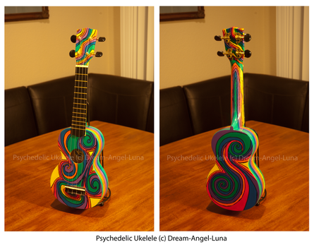 Psychedelic Ukelele by Dream-Angel-Luna