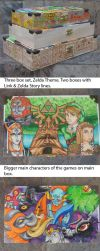 Zelda Link boxes three pack by ShadowWalkerInc