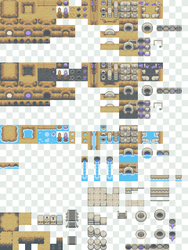 Crystal Caves Tiles by Magiscarf