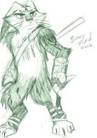 Rise of the Guardians - Bunnymund by LeafofDeath