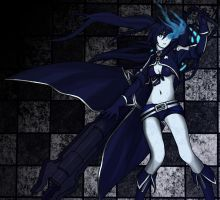 Black Rock Shooter - FanArt by RivanKrieg