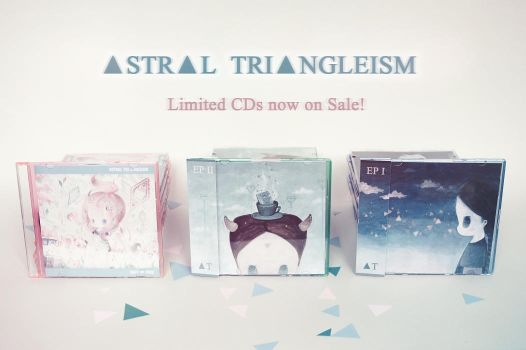 Astral Triangleism CDs Announcement by XkY