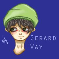Gerard Way by illogicalgummybears