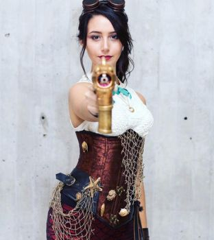 Steampunk Melody by IsabellaCUDA
