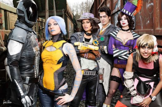 Borderlands 2 cosplay group by ThelemaTherion