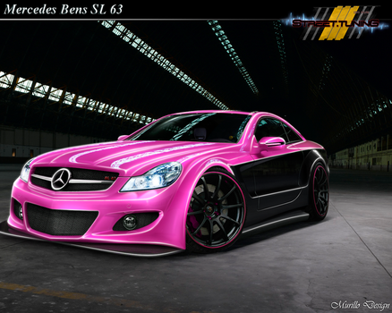 Mercedes SL 63 Pink by MurilloDesign