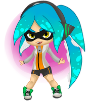 splatoon inkling oc by AK-47x