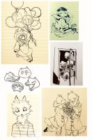 sketchdump19 by cayotze