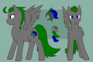 Emerald Knight Ref by CNat