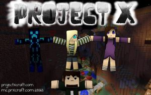 MineCraft Server: Project X by xXxCrystalWolfxXx