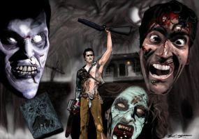 evil dead Hail to the king by roydraven777