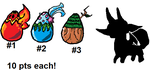 Adoptable Batch: Mystery Eggs #1 (Closed) by SonicLover1523