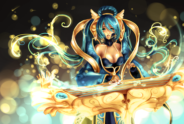 Sona Redesign by Hannah515
