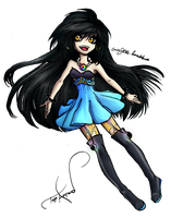 Taiyo Append chibi by CarrieJCole