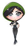 Green (chibi avatar) by JessHavok