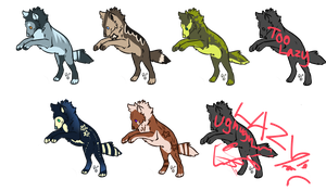 CHEAP ADOPTS CLOSED by Hevirago