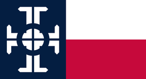 Texas Federation Flag (Fictional Flag) by kwhammes