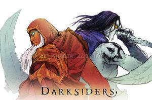 Darksiders: Brothers by Red-Sinistra