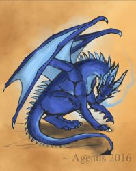 Patreonsketch: Dragoned! by Ageaus