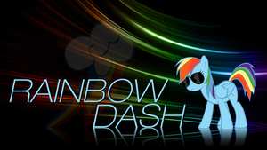 Big Adventure - Rainbow Dash Wallpaper by smokeybacon